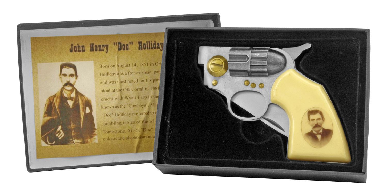 4.5 in Revolver Folding Pocket Knife - John Henry  inDoc in Holiday