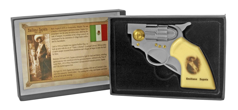 4.5 in Revolver Folding Pocket Knife - Emiliano Zapata