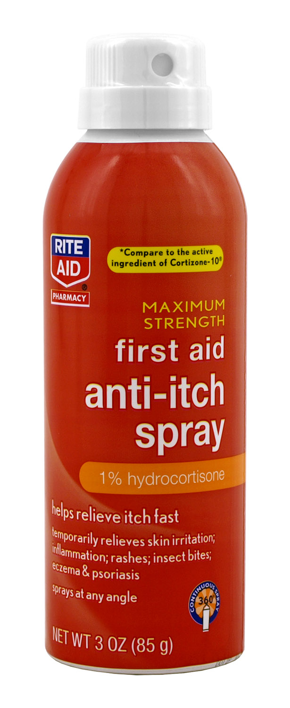 Rite Aid First Aid Anti-Itch Spray