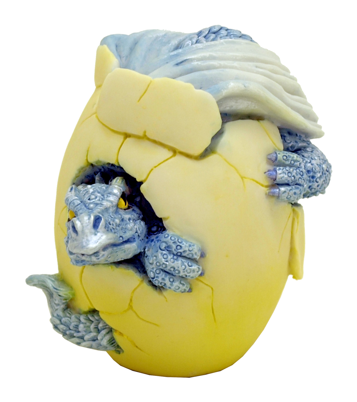 Viserion Hatching Dragon Egg Statue Figurine