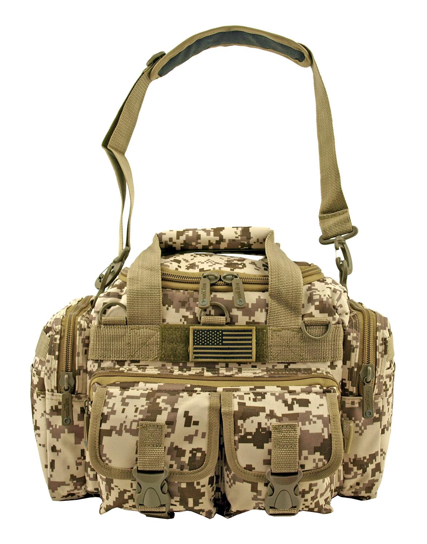 Mini Duffle Carry On Travel Gym Bag - Desert Digital Tan Camo