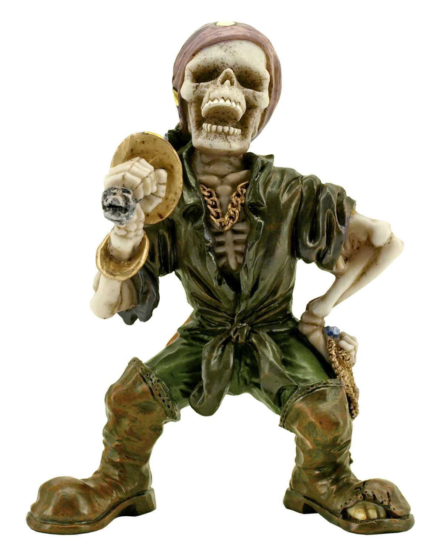 Plundering Pirate Statue Figurine