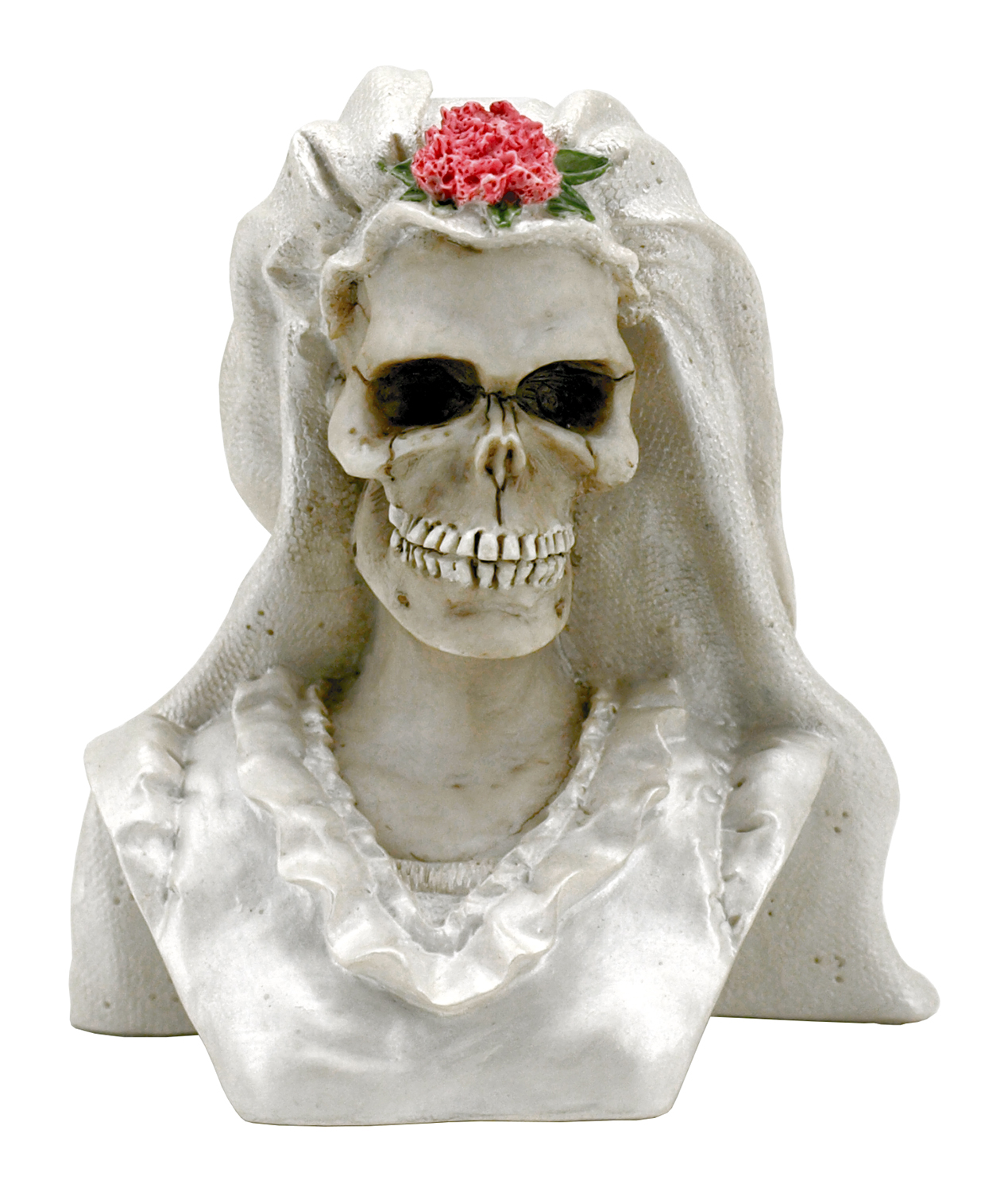 Skeleton Bride of Death Cake Topper Figurine