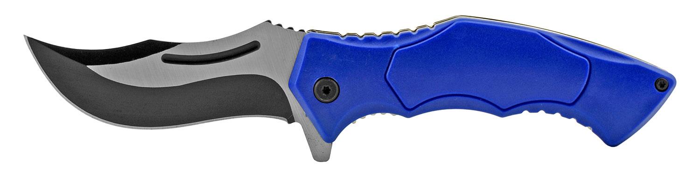 4.75 in Carving Folding Pocket Knife - Blue