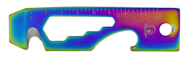 2.75 in Key Chain Multi-Function Tool - Titanium