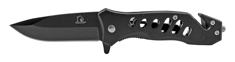 3.75 in All Metal Spring Assist Folding Pocket Knife - Black