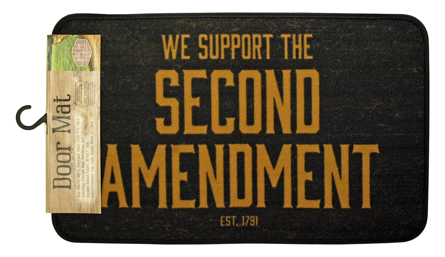 Second Amendment Door Mat