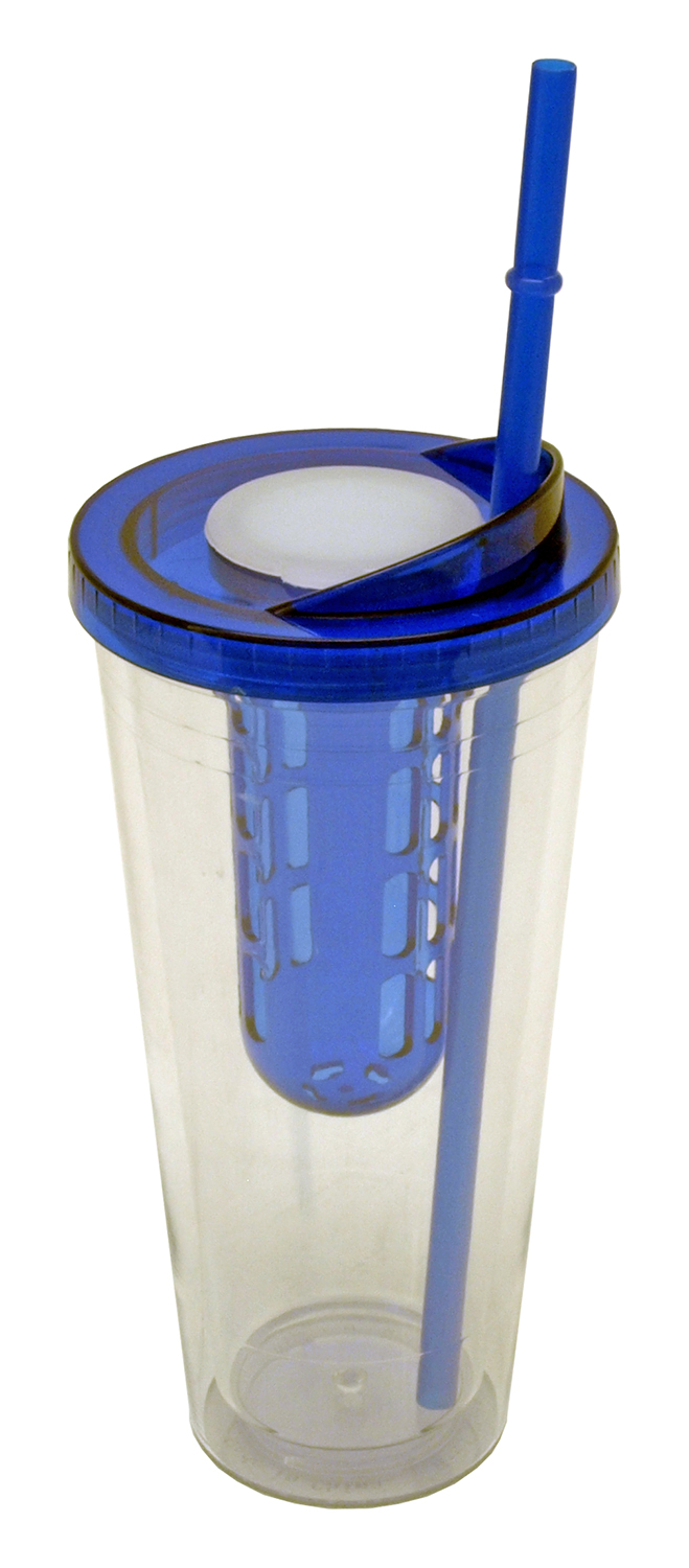 Tumbler Water Bottle with Straw