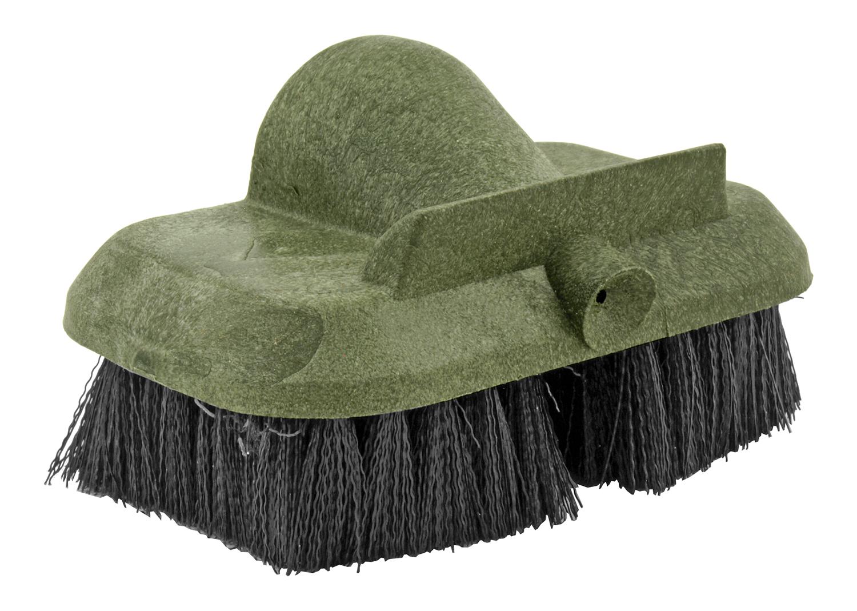 Military Issue Broom Handle Decontamination Brush with Nylon Bristles - DAAA09