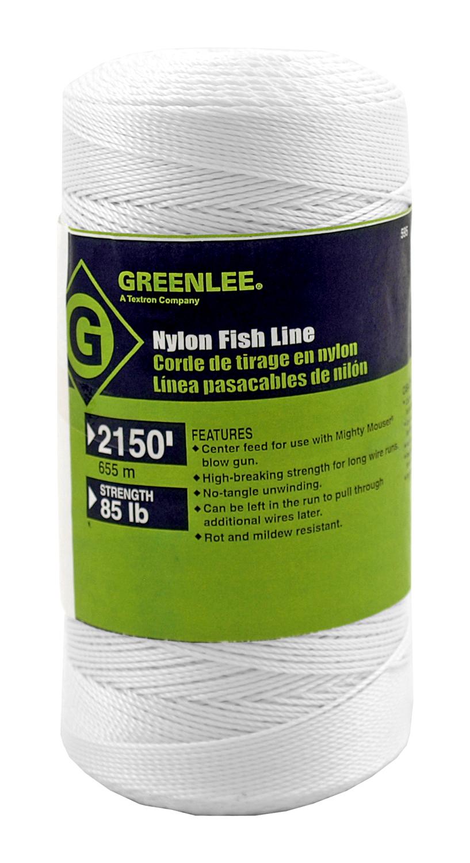 2150' GreenLee Nylon Fishing Line