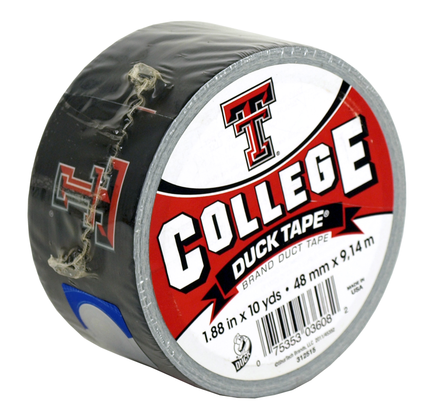 Texas Tech College Brand Duct Tape - 10 yd.