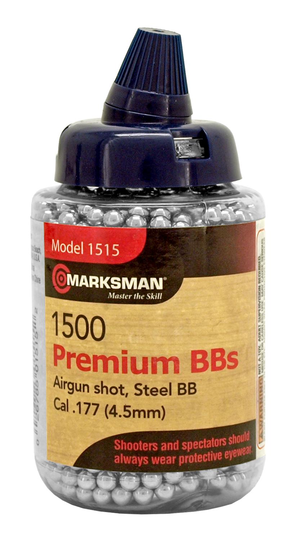 Marksman 1500 ct. Premium Steel BB's