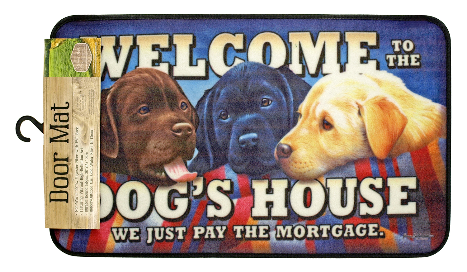 Welcome to the Dog's House - Door Mat