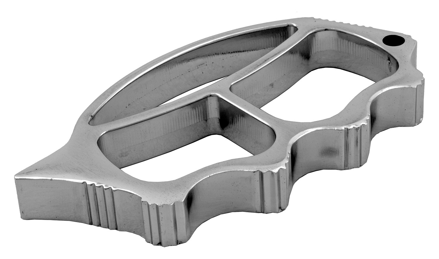 Muscle Car Guy Brass Knuckle Duster Style Paperweight - Chrome
