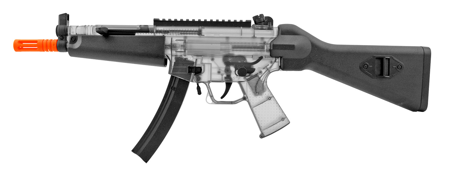 GSG-522 AEG Electric Powered Fully Automatic Airsoft German Sport Gun Kit with Spring Assisted Pistol