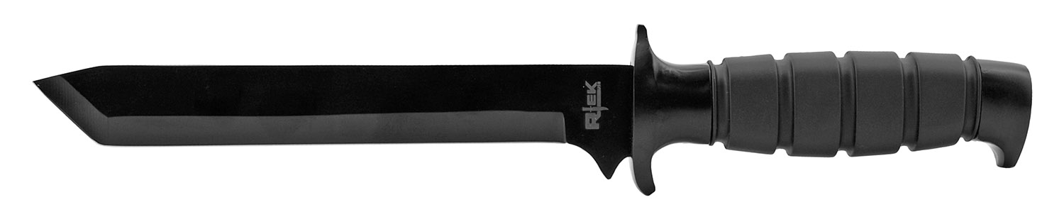 12.38 in Professional Quality Tactical Hunting Knife - Black