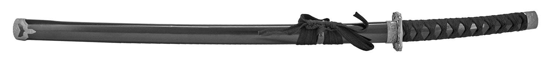 37 in Traditional Samurai Sword - Black