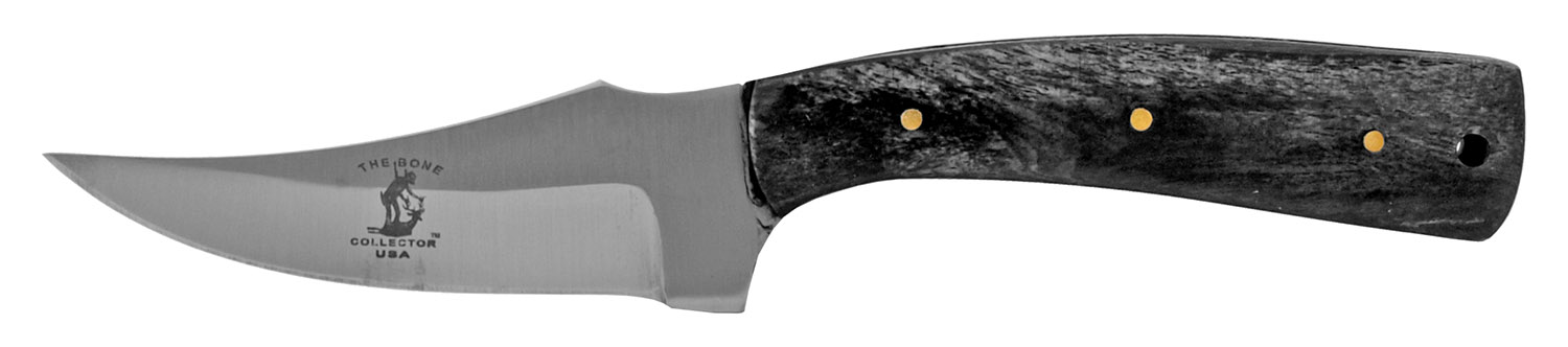 7.25 in Full Tang Cowboy Hunting Pocket Knife - The Bone Collector