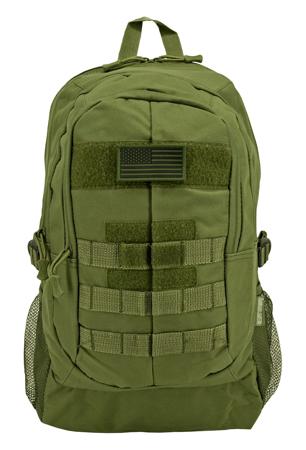 Tactical All-Terrain Backpack - Olive Green