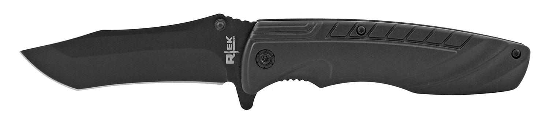 4.75 in R-Tek Traditional Tactical Pocket Knife - Black