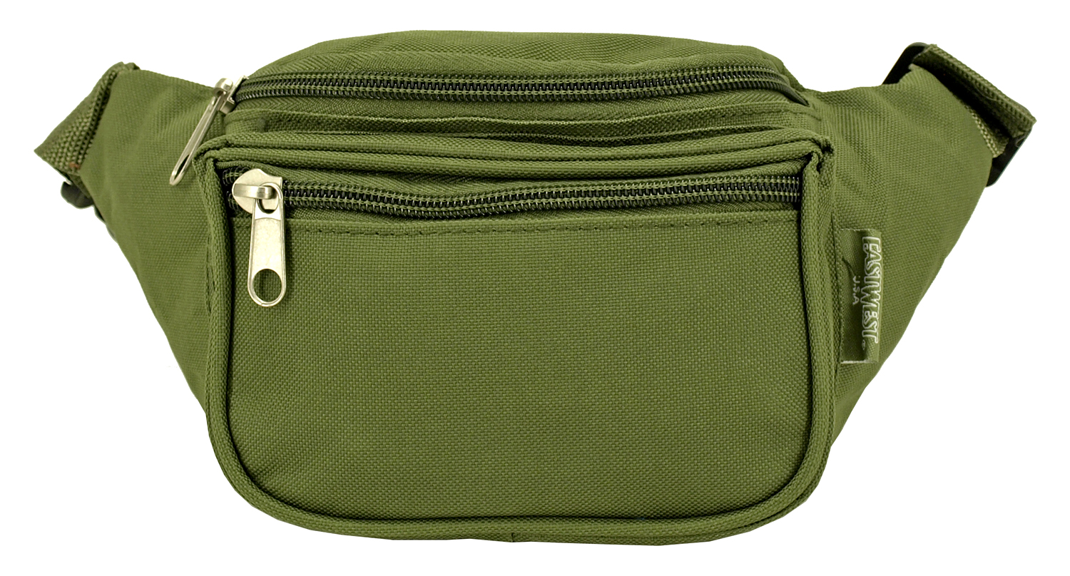 Medium Daily Fanny Pack with Pouch - Olive Green