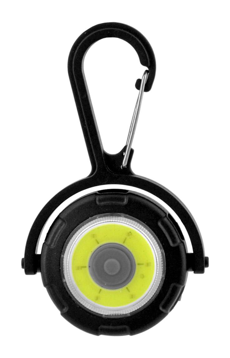 LED FOB Flashlight Carabiner Keychain