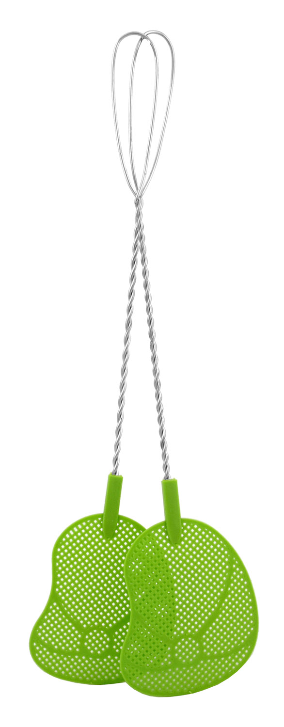 The Classic Fly Swatter with Metal Handle - 2 pk