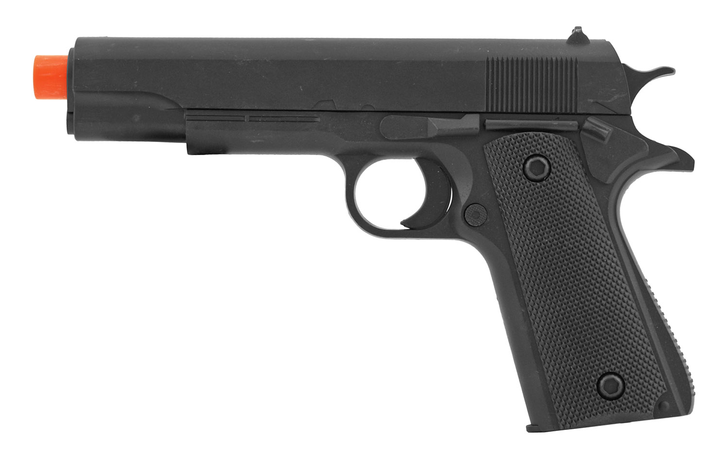UK Arms P2003 Spring Powered Airsoft Pistol - Black