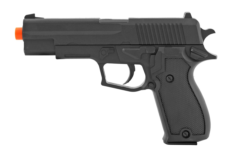 UK Arms P2220 Spring Powered Replica Airsoft Handgun - Black