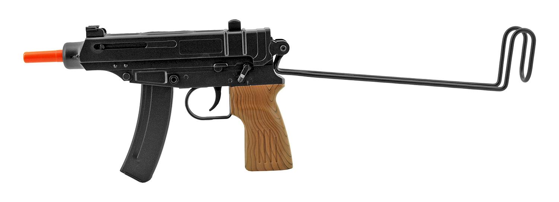 Double Eagle M37F Replica Airsoft Submachine Gun with Folding Stock