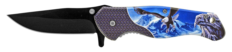 4.75 in American Spirit Folding Pocket Knife - Eagle