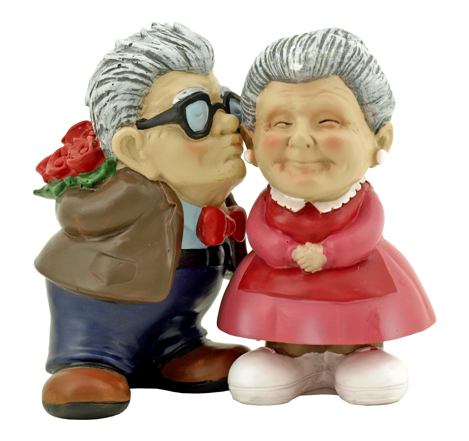 Our Love is Timeless - Grandparent Husband and Wife Couple Statue Figurine - DWK