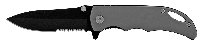 4.13 in Traditional Folding Pocket Knife - Grey