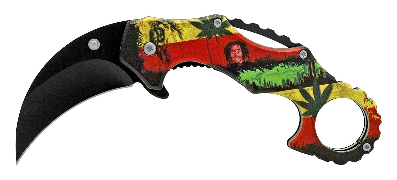 4.88 in Karambit Folding Pocket Knife - Marley and Mary