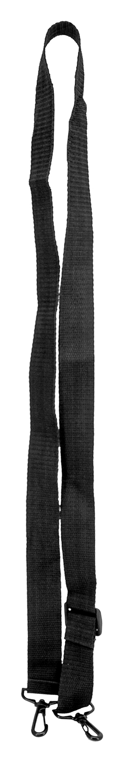 Traditional One Point Rifle Sling - Black Nylon