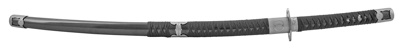 Dual Blade Katana Ninja Sword - Black