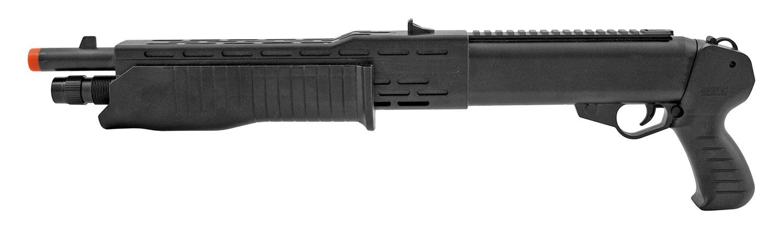 UK Arms P2302BAG SPAS 12 Pump Action Spring Powered Sawed Off Shotgun Rifle