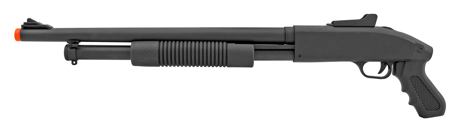 CYMA ZM61 Spring Powered Airsoft Shotgun with Pistol Grip
