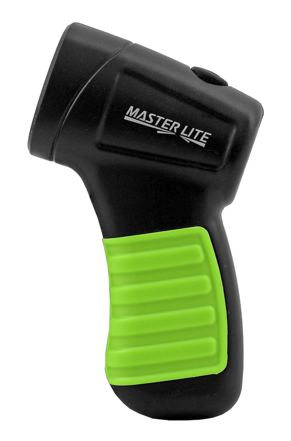Climate and Eco-Friendly Battery Operated Master Lite Pistol Grip Push Button Flashlight - Assorted Colors