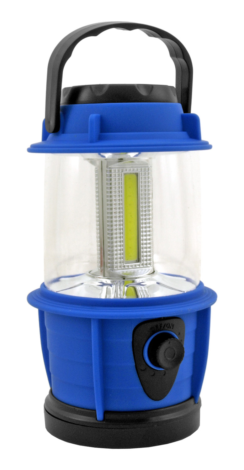 Climate and Eco-Friendly Battery Operated Ultra Bright Mini COB LED Lantern Flashlight - Assorted Colors