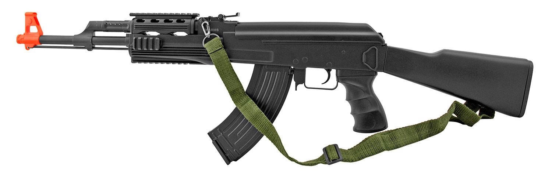 UK Arms IU-AK47B Spring Powered Airsoft Replica AK47 Assault Rifle