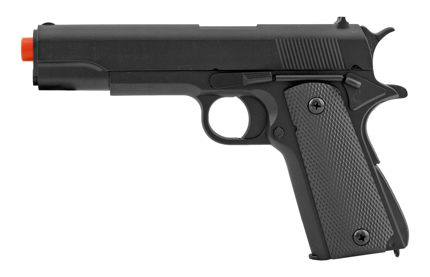 UK Arms P819 1911 A1 Replica Airsoft Pistol with Metal Slide