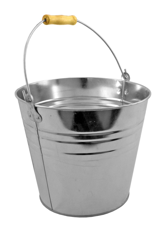 3 Gallon - Metal Pail Steel Bucket
