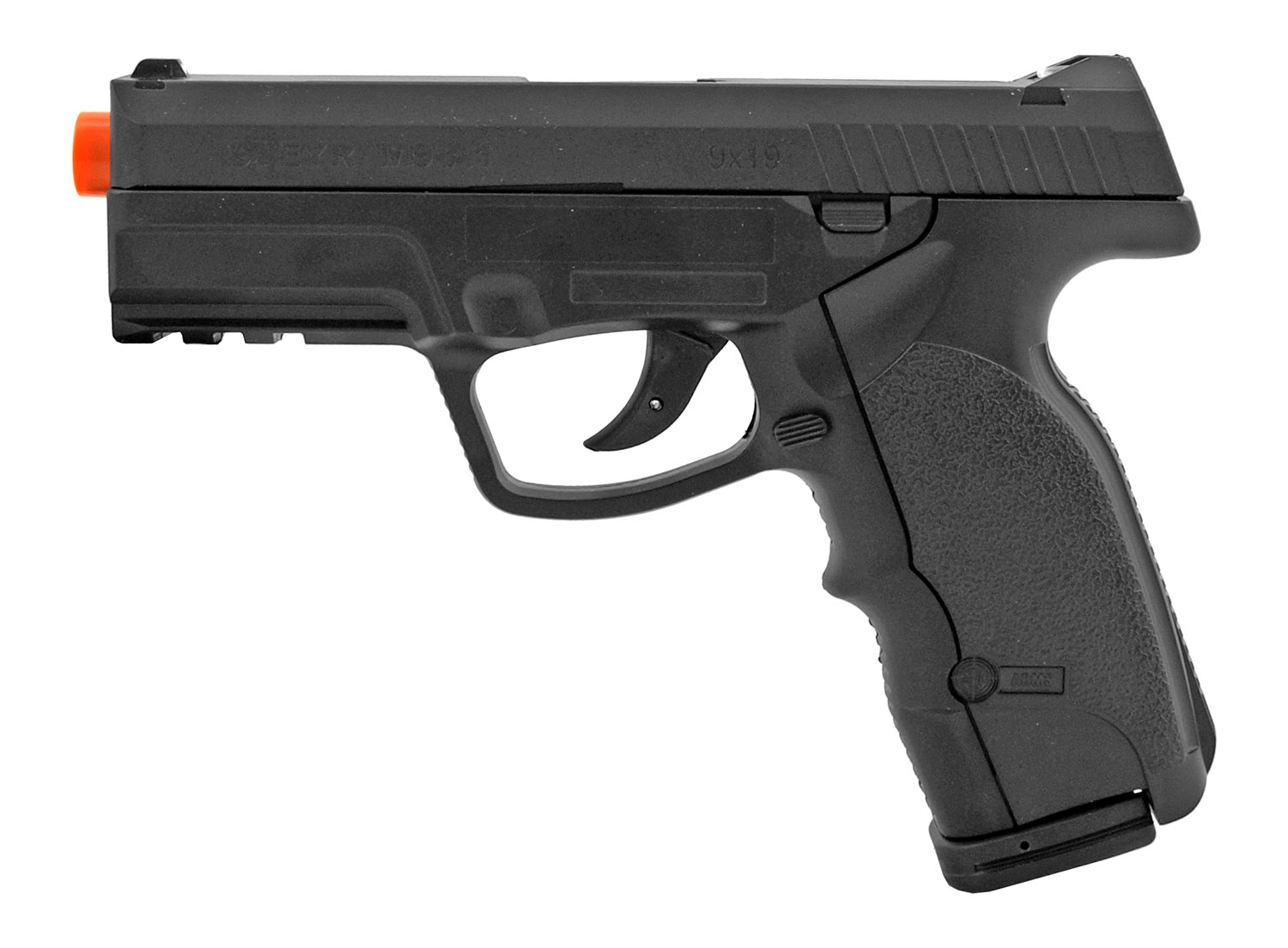 ASG Steyr M9-A1 Co2 Powered Semi-Automatic 6mm Airsoft BB Pistol - Black
