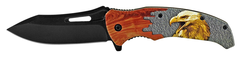 4.75 in Colorado Cowboy Folding Pocket Knife - Eagle
