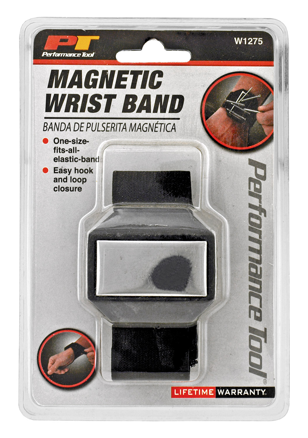 Magnetic Wristband for Construction and Working with Nails and Screws