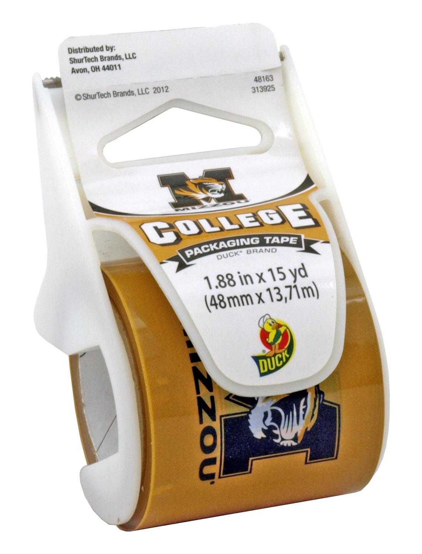 15 yd. University of Missouri Mizzou MU College Series Tiger Logo Packaging Duck Tape