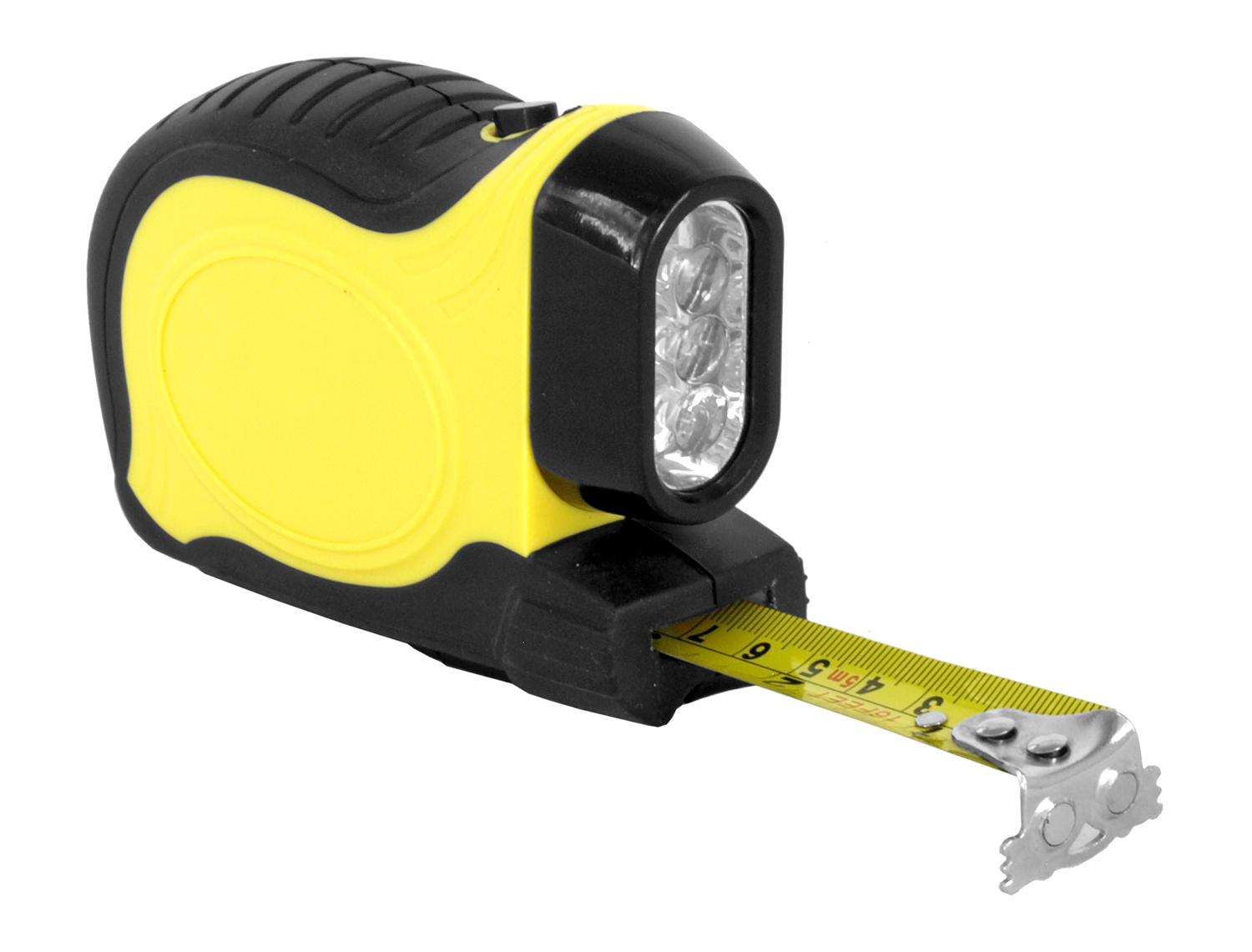 16 - ft. Push Button Tape Measure with Flashlight