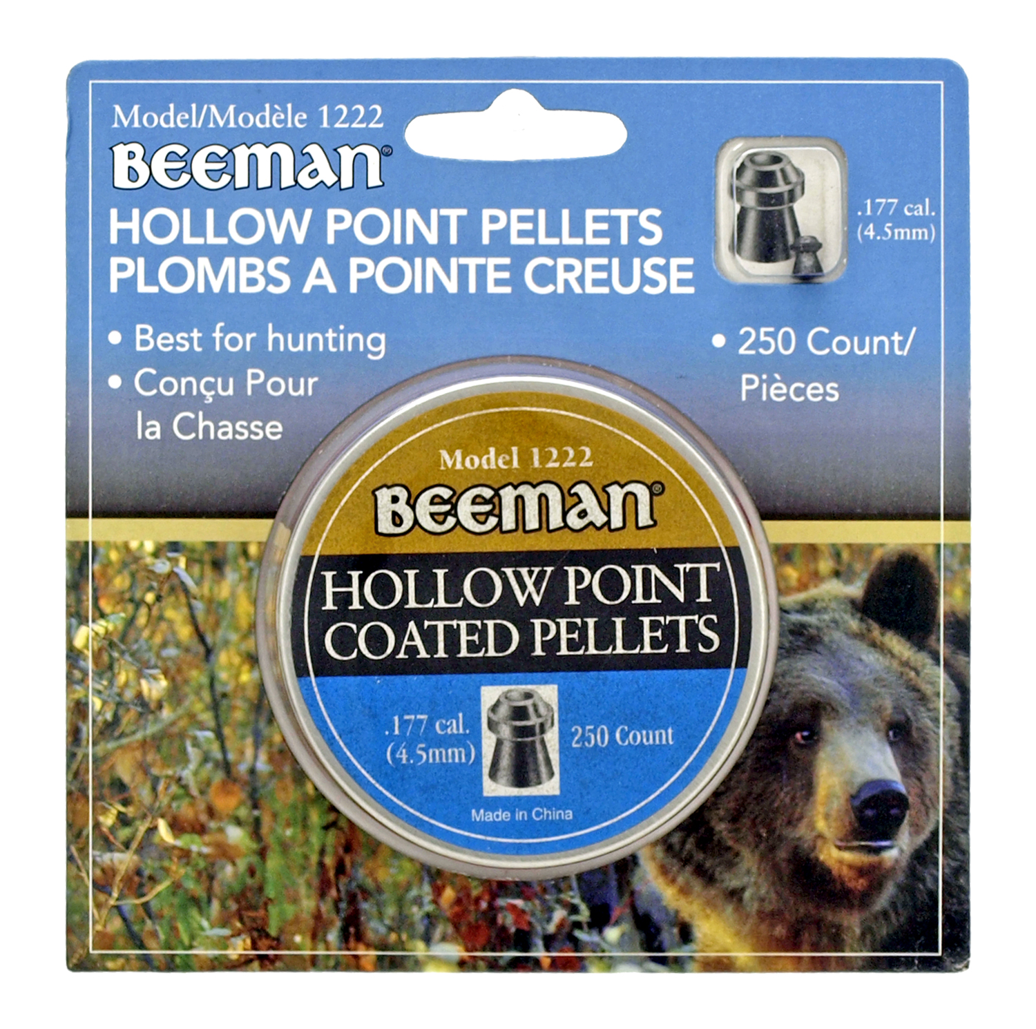 Beeman Hollow Point Pellets - 250 Ct.