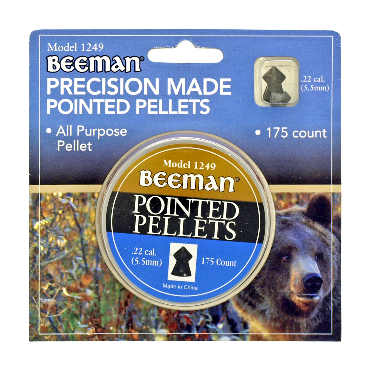 Beeman Precision Made Pointed Pellets - 175 Ct.